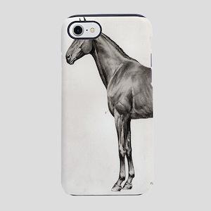 rustic vintage anatomy horse iPhone 8/7 Tough Case