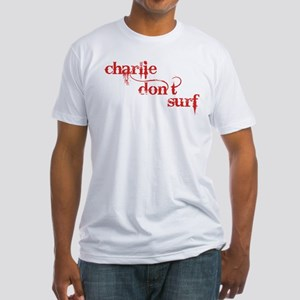 Charlie Don't Surf Fitted T-Shirt