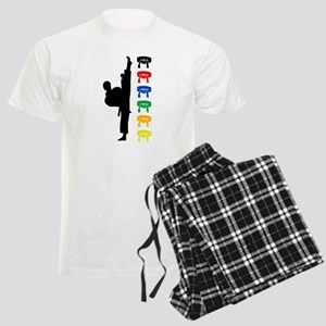 Karate Boy Men's Light Pajamas