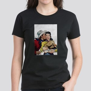 Kissing Cowboy White T-Shirt