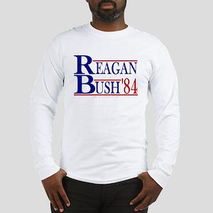 Reagan Bush 1984 Long Sleeve T-Shirt