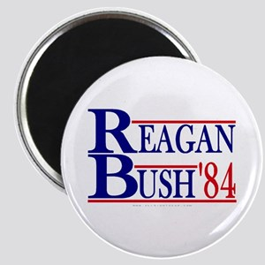 Reagan Bush 1984 Magnet