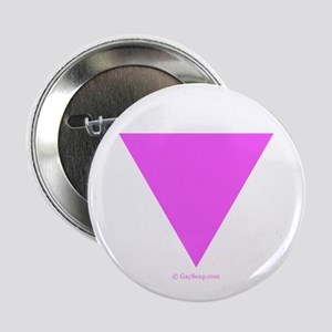 """Pink Triangle 2.25"""" Button"""