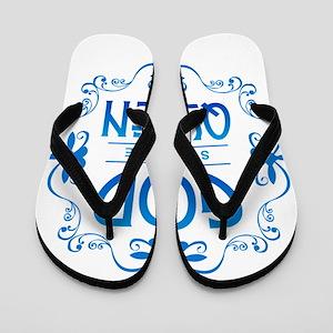 God Save the Queen Flip Flops