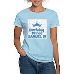 1st Birthday Prince Samuel IV Women's Light T-Shir