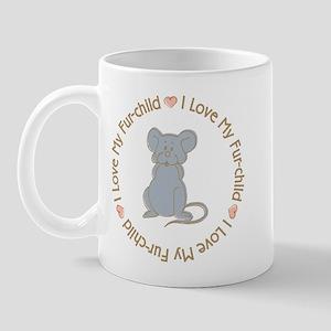 I Love my Rat Fur-children Mug
