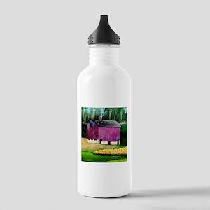 Purple Barn Stainless Water Bottle 1.0L