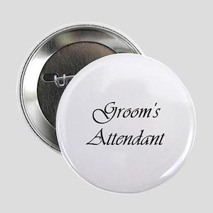 Groom's Attendant Vivaldi Button