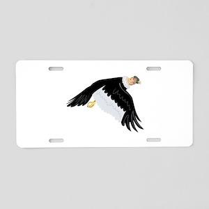 Andean Condor in Flight Ret Aluminum License Plate