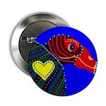 "Turkey Vulture 2.25"" Button (100 pack)"