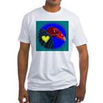 Turkey Vulture Fitted T-Shirt