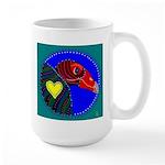 Turkey Vulture Large Mug