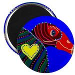 """Turkey Vulture 2.25"""" Magnet (10 pack)"""