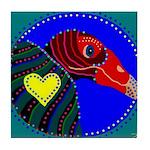 Turkey Vulture Tile Coaster