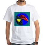 Turkey Vulture White T-Shirt