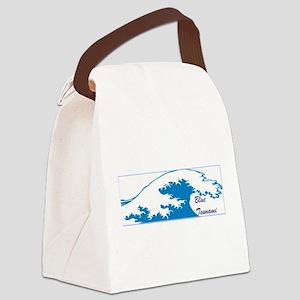 blue tsunami, blue wave, vote Canvas Lunch Bag