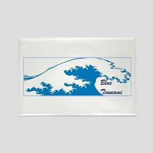 blue tsunami, blue wave, vote Magnets