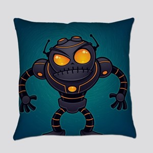 Angry Robot Everyday Pillow