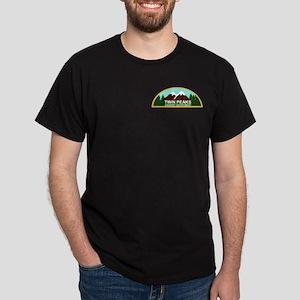 Twin Peaks Sheriff's Department Dark T-Shirt