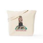 Ferret Lady Tote Bag