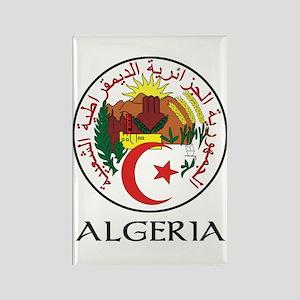 Algeria Coat of Arms Rectangle Magnet