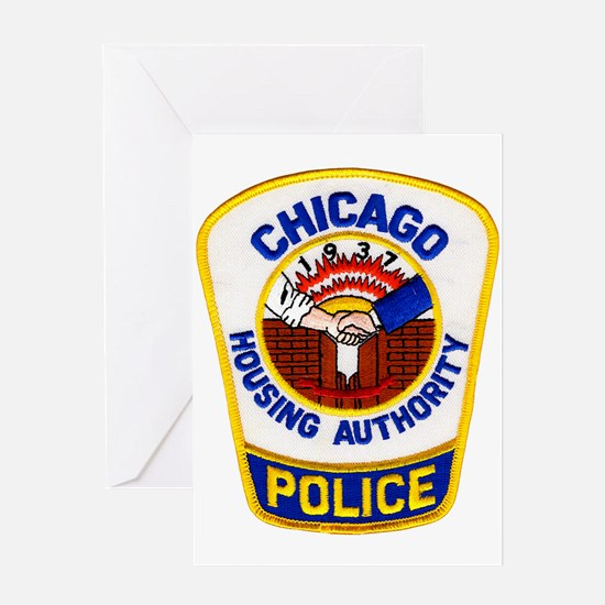 Chicago Housing PD Greeting Card