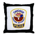 Chicago Housing PD Throw Pillow