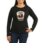 Chicago Housing PD Women's Long Sleeve Dark T-Shir