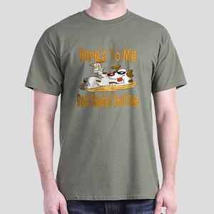 Cheers For Stepdads Dark T-Shirt