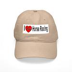 I Love Horse Racing Cap