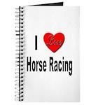 I Love Horse Racing Journal
