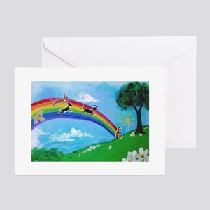 Over the Rainbow Bridge Greeting Cards (Package of