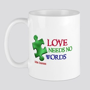 Love Needs No Words 1 Mug
