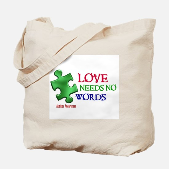 Love Needs No Words 1 Tote Bag
