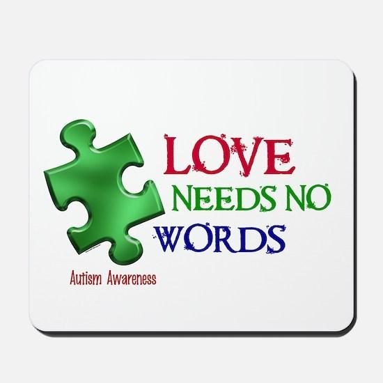 Love Needs No Words 1 Mousepad