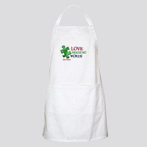 Love Needs No Words 1 BBQ Apron
