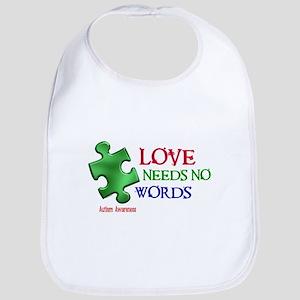 Love Needs No Words 1 Bib