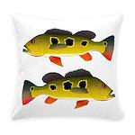 Butterfly Peacock Bass Everyday Pillow