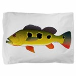Butterfly Peacock Bass Pillow Sham