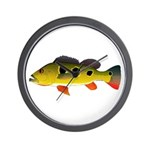 Butterfly Peacock Bass Wall Clock
