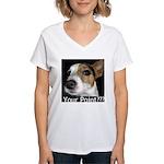 JRT Your Point? Women's V-Neck T-Shirt