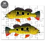 Butterfly Peacock Bass Puzzle