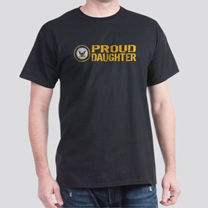 U.S. Navy: Proud Daughter Women's Dark T-Shirt
