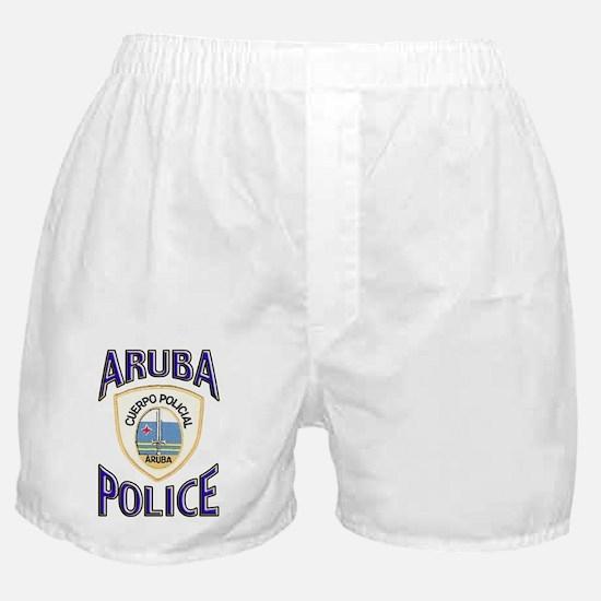 Aruba Police Boxer Shorts