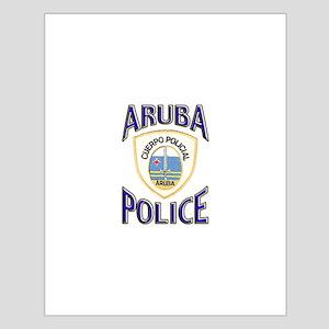 Aruba Police Small Poster