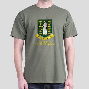 BVI Coat of Arms Dark T-Shirt