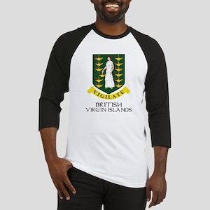 BVI Coat of Arms Baseball Jersey