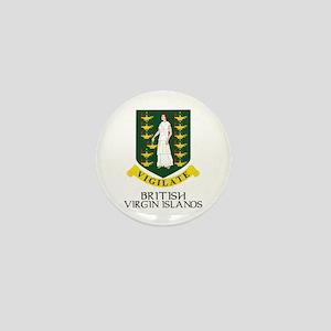 BVI Coat of Arms Mini Button