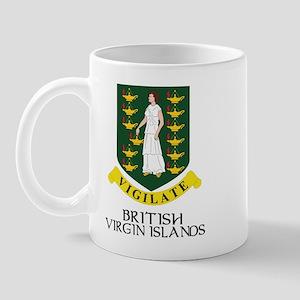 BVI Coat of Arms Mug