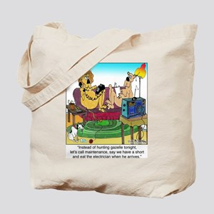 Eat the Electrician Tote Bag